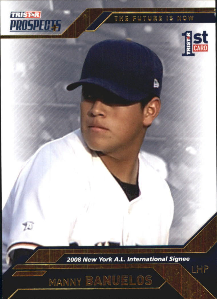 2009 TRISTAR Prospects Plus Gold #73 Manny Banuelos