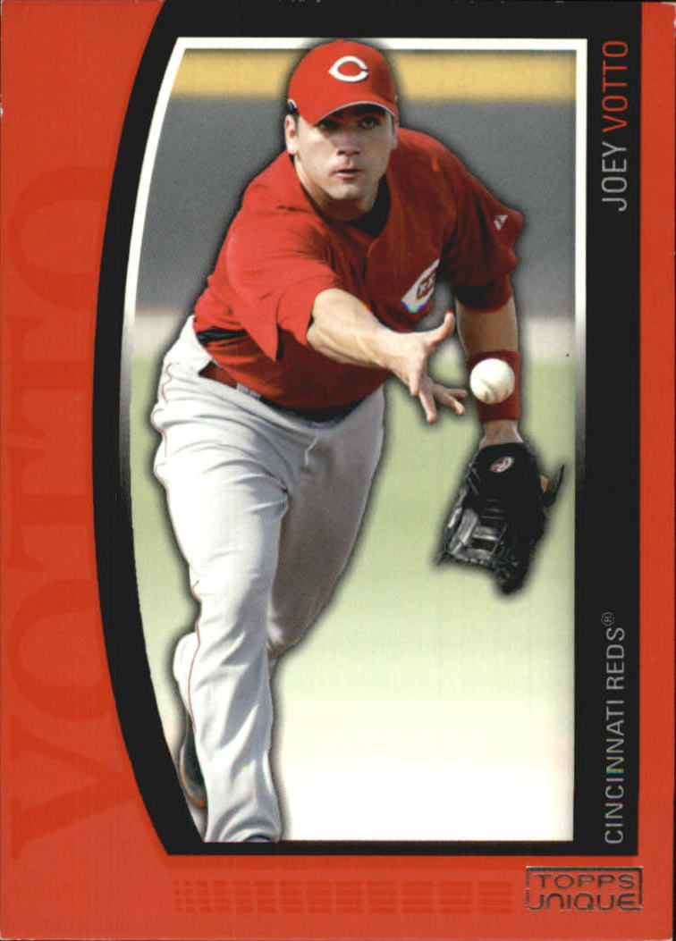 2009 Topps Unique Red #43 Joey Votto