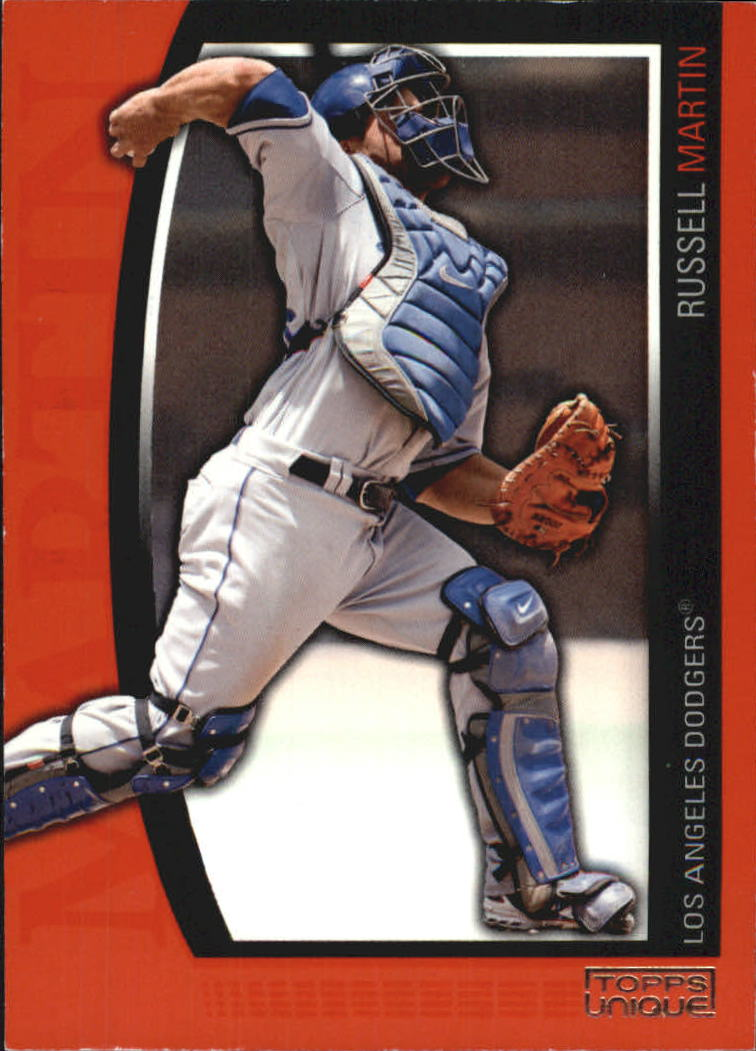 2009 Topps Unique Red #92 Russell Martin