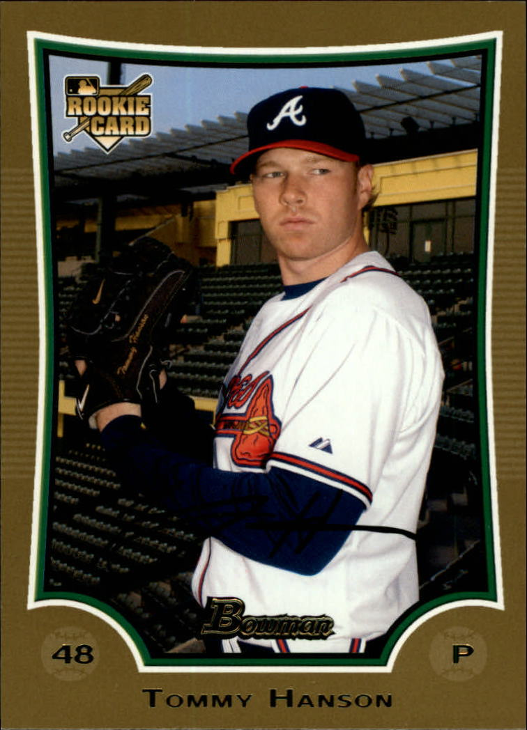 2009 Bowman Draft Gold #BDP1 Tommy Hanson