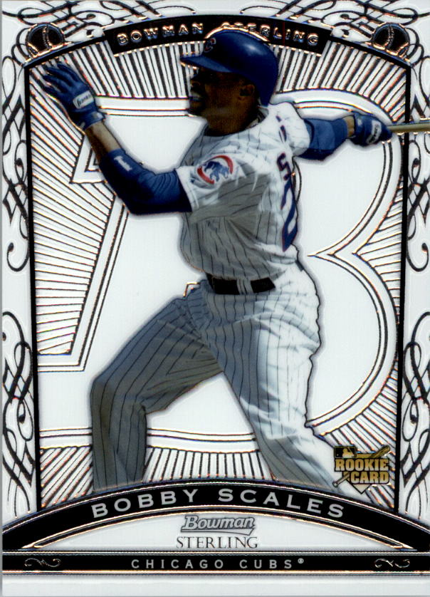 2009 Bowman Sterling #BS Bobby Scales RC