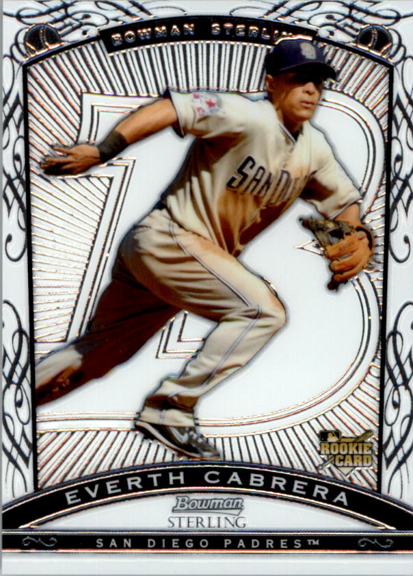 2009 Bowman Sterling #EC Everth Cabrera RC