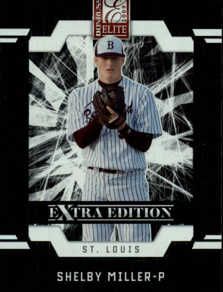 2009 Donruss Elite Extra Edition #13 Shelby Miller