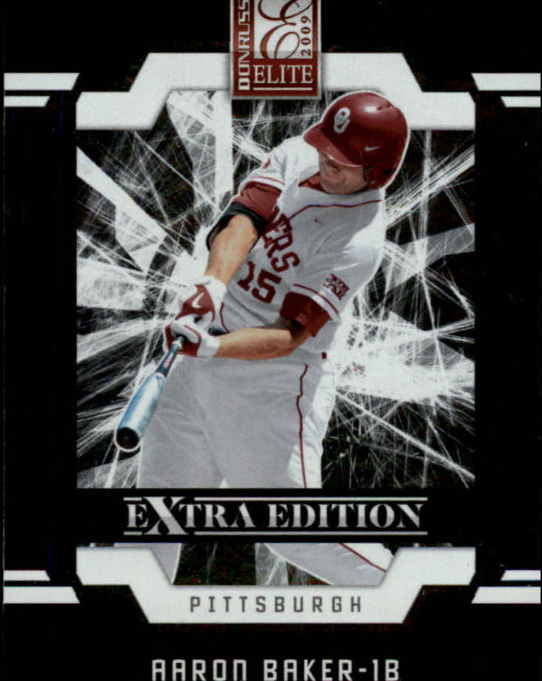 2009 Donruss Elite Extra Edition #40 Aaron Baker