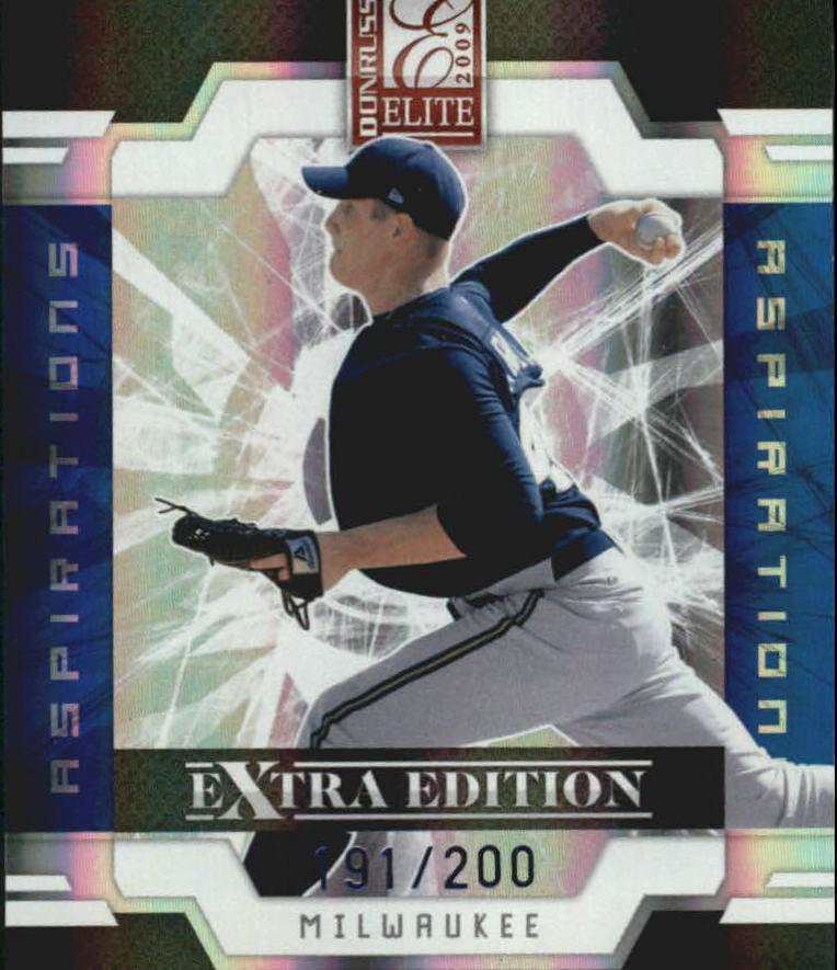2009 Donruss Elite Extra Edition Aspirations #28 Eric Arnett