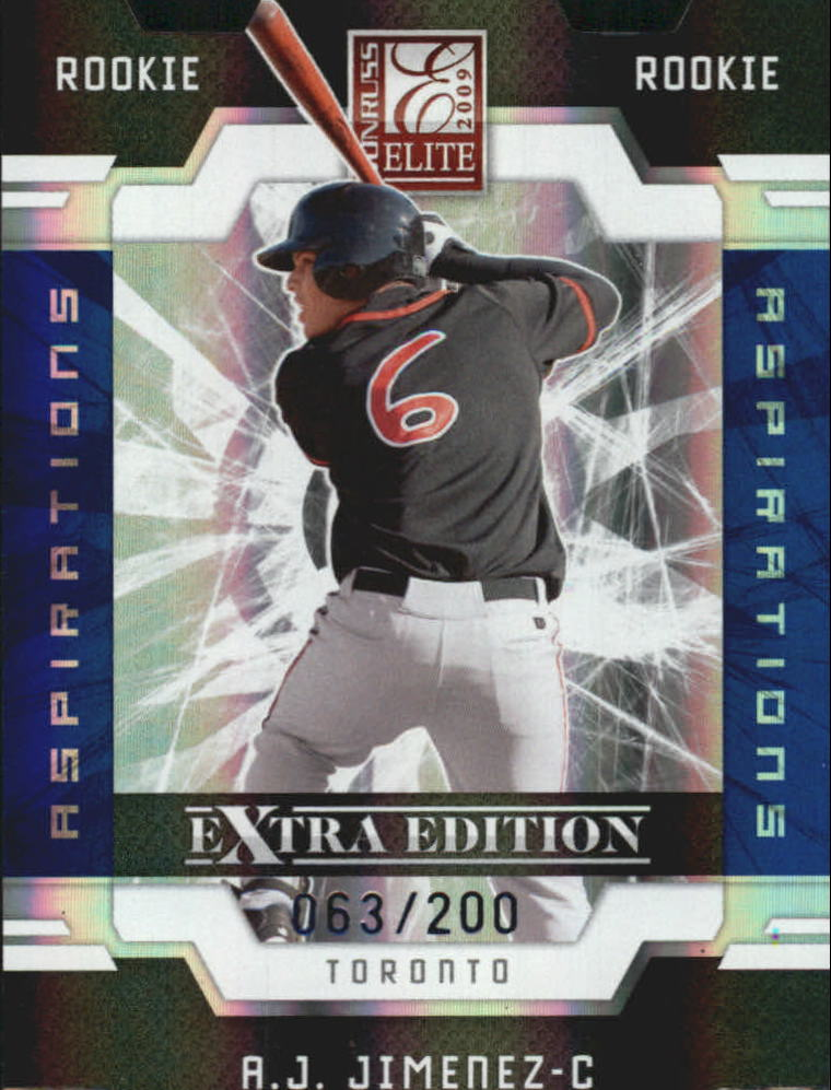 2009 Donruss Elite Extra Edition Aspirations #137 A.J. Jimenez