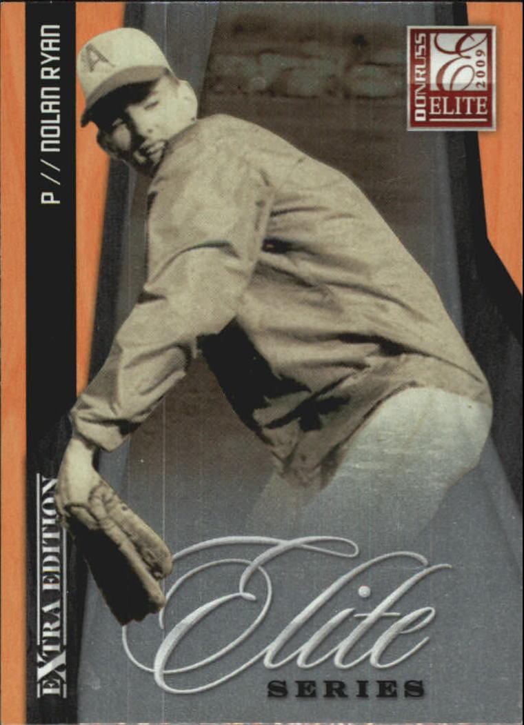 2009 Donruss Elite Extra Edition Elite Series #8 Nolan Ryan