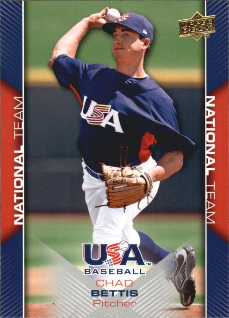 2009-10 USA Baseball #USA4 Chad Bettis