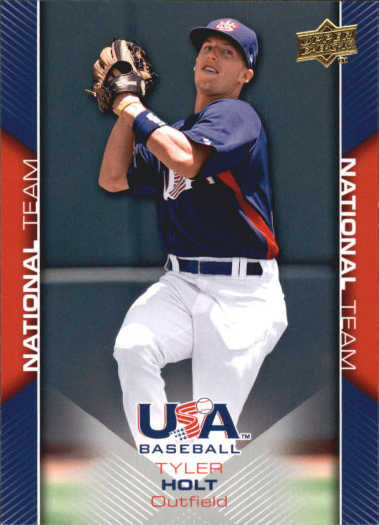 2009-10 USA Baseball #USA10 Tyler Holt