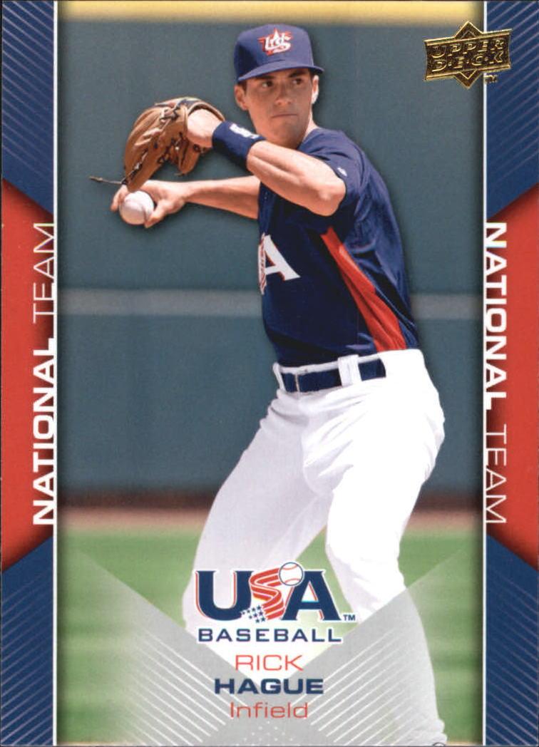 2009-10 USA Baseball #USA12 Rick Hague