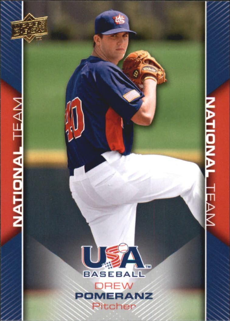 2009-10 USA Baseball #USA13 Drew Pomeranz