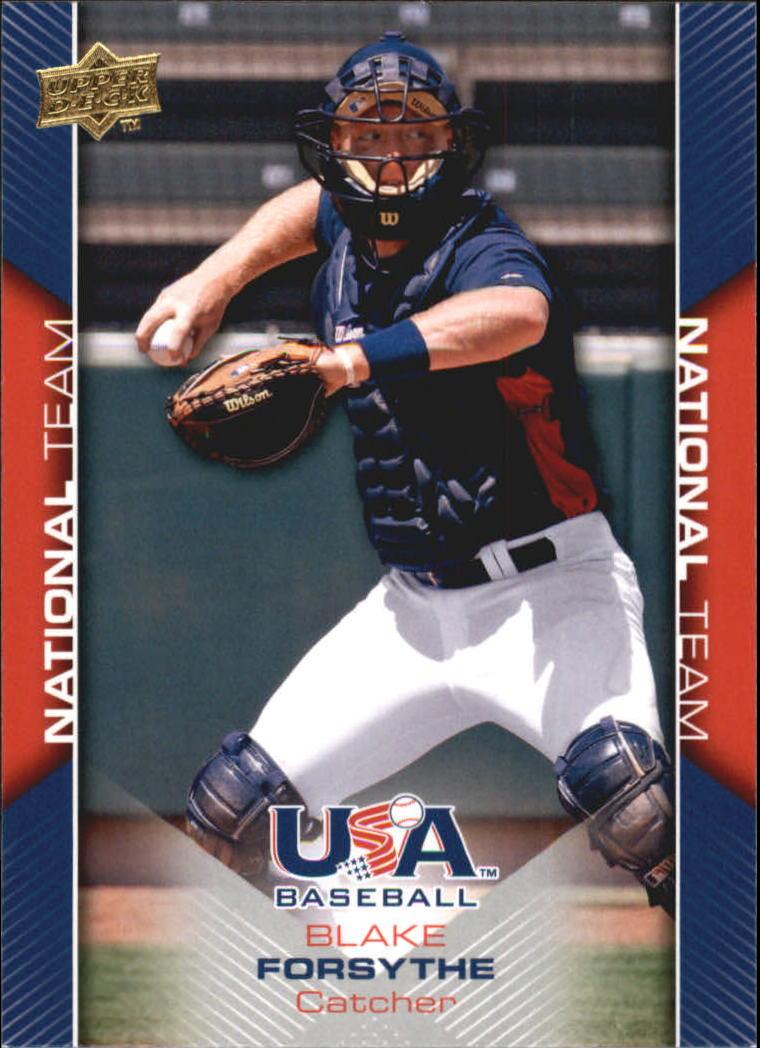 2009-10 USA Baseball #USA14 Blake Forsythe