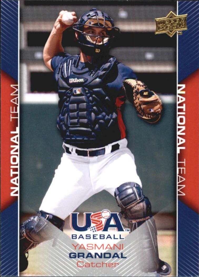 2009-10 USA Baseball #USA18 Yasmani Grandal