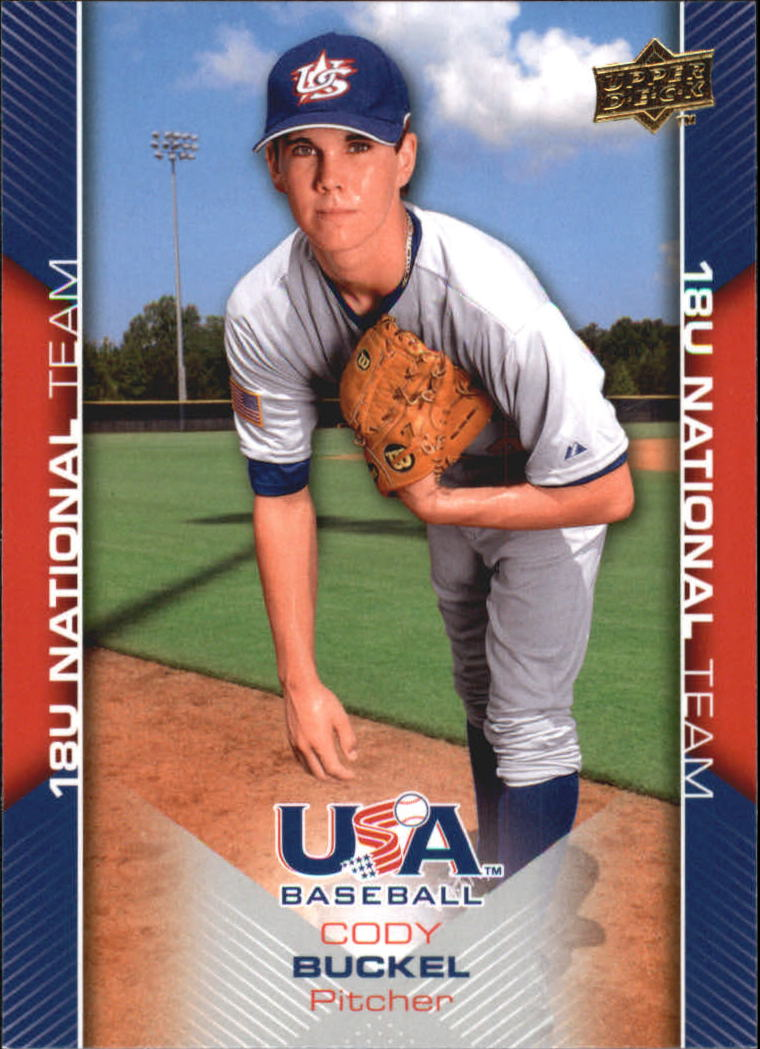 2009-10 USA Baseball #USA23 Cody Buckel