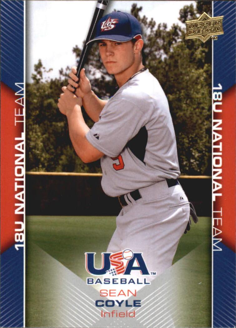 2009-10 USA Baseball #USA26 Sean Coyle