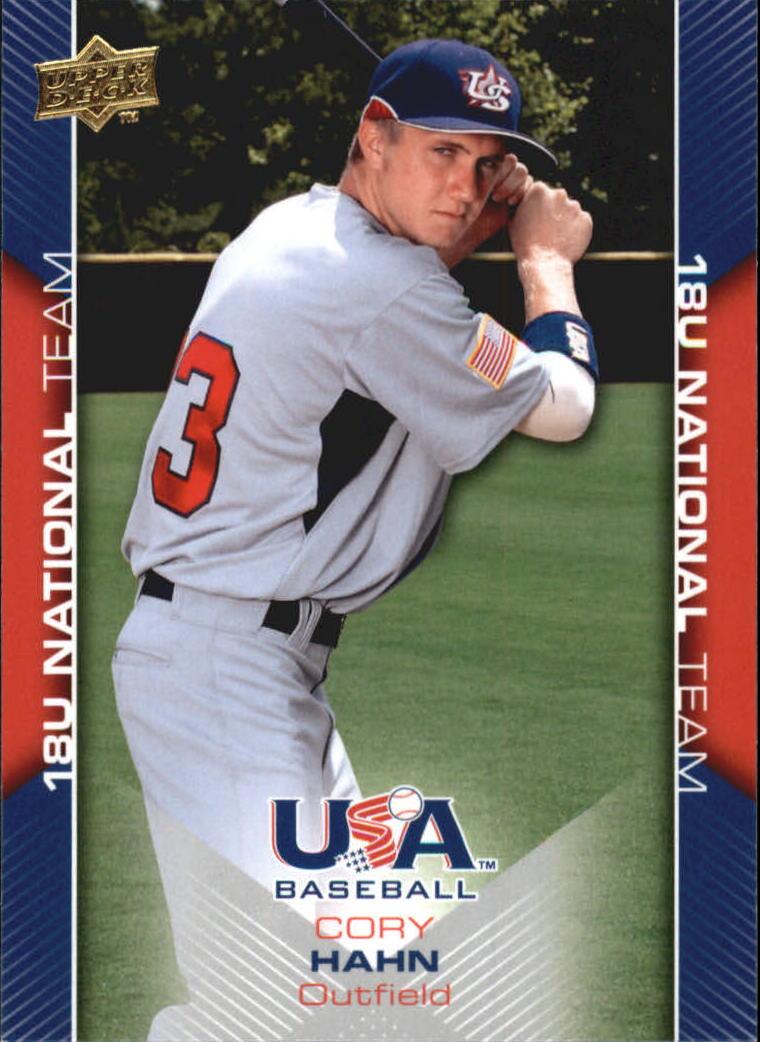 2009-10 USA Baseball #USA29 Cory Hahn