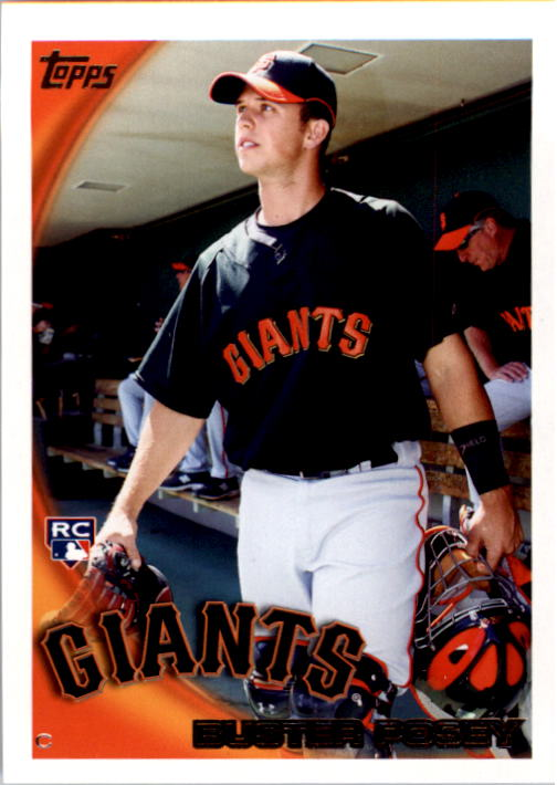 2010 Topps #2 Buster Posey RC