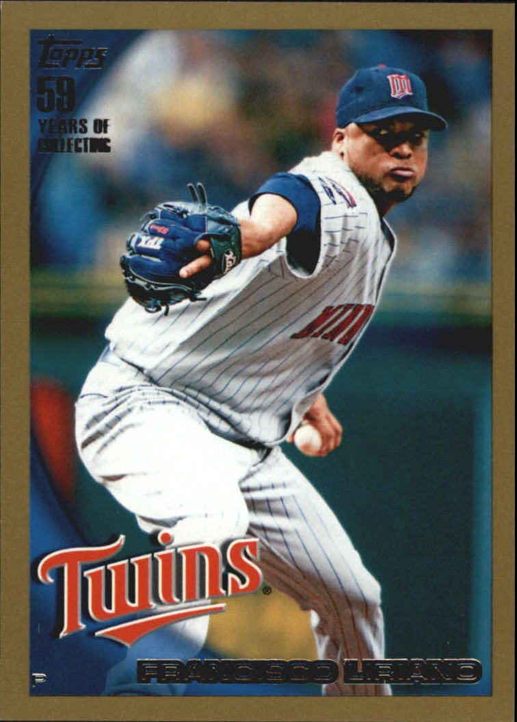 2010 Topps Gold Border #464 Francisco Liriano