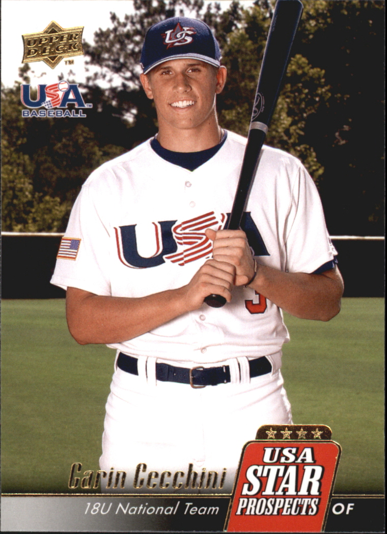 2009 Upper Deck Signature Stars USA Star Prospects #USA3 Garin Cecchini