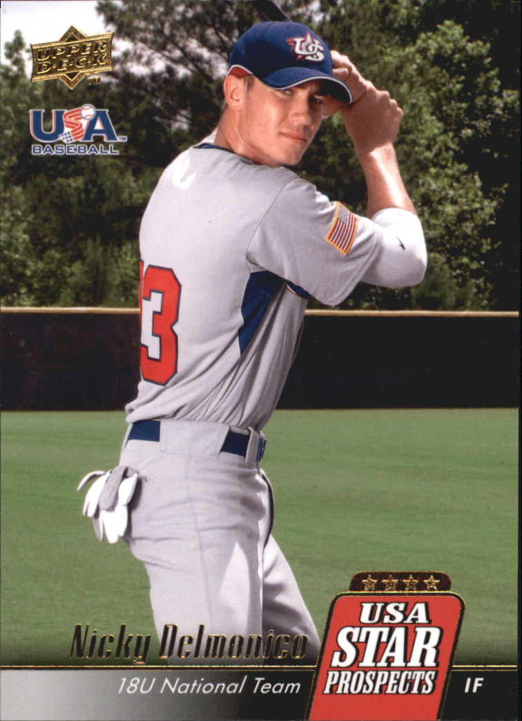2009 Upper Deck Signature Stars USA Star Prospects #USA5 Nicky Delmonico