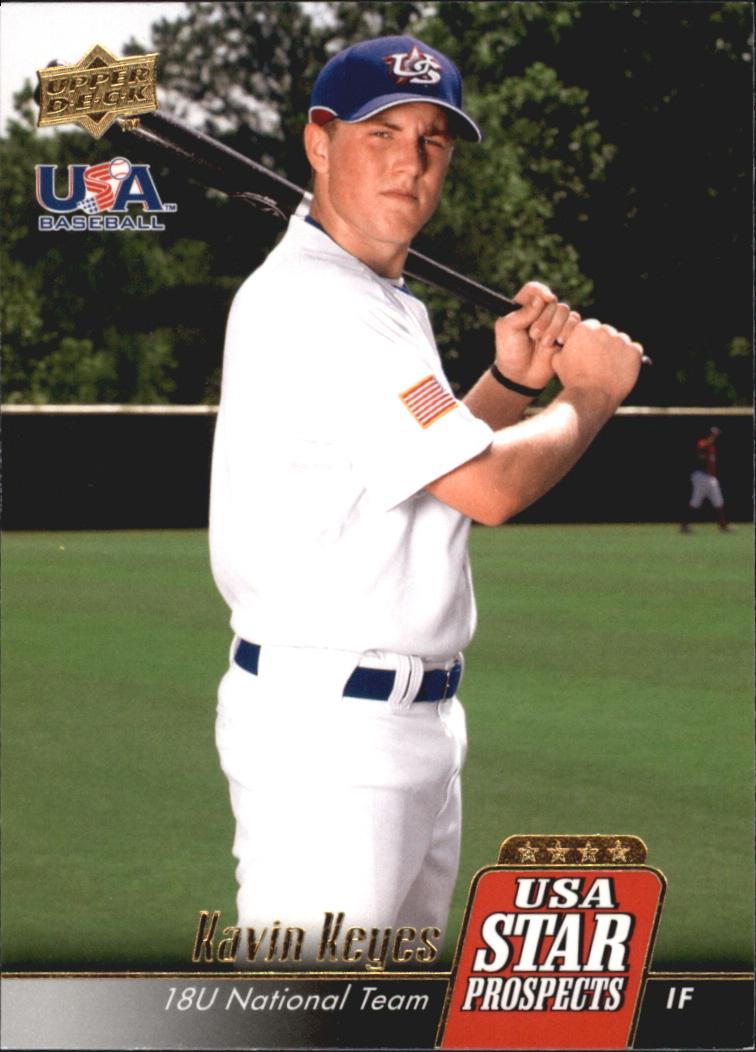 2009 Upper Deck Signature Stars USA Star Prospects #USA9 Kavin Keyes