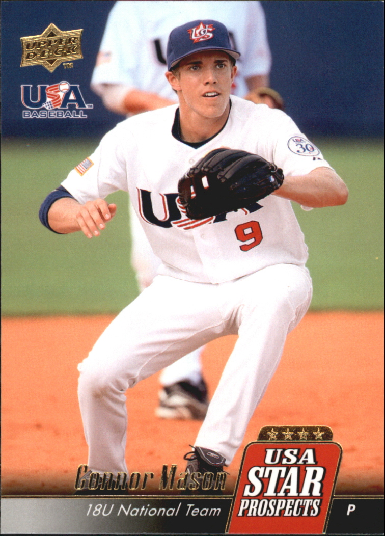 2009 Upper Deck Signature Stars USA Star Prospects #USA11 Connor Mason
