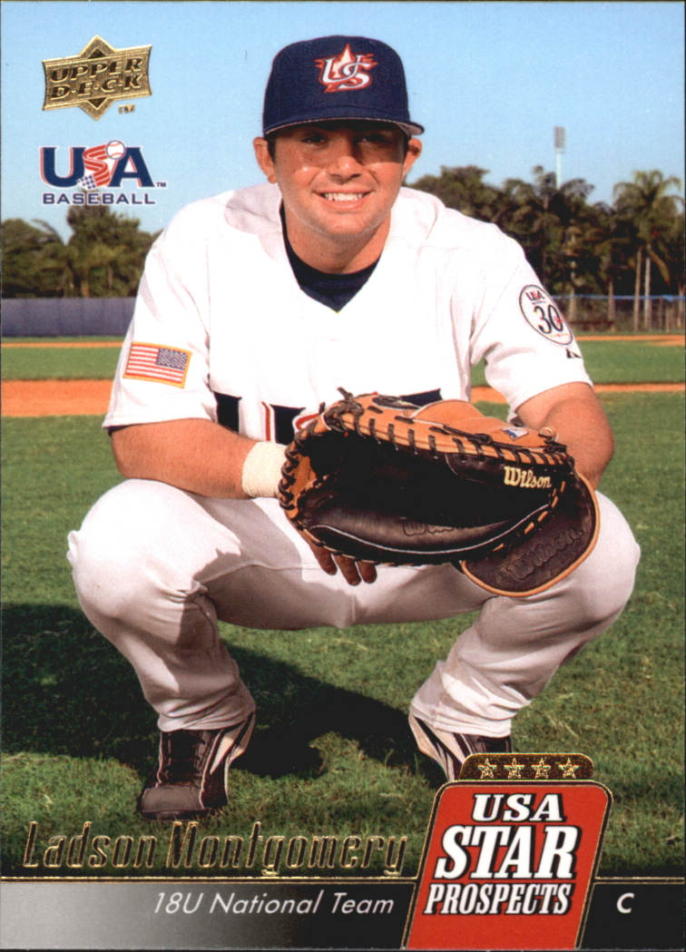 2009 Upper Deck Signature Stars USA Star Prospects #USA12 Ladson Montgomery