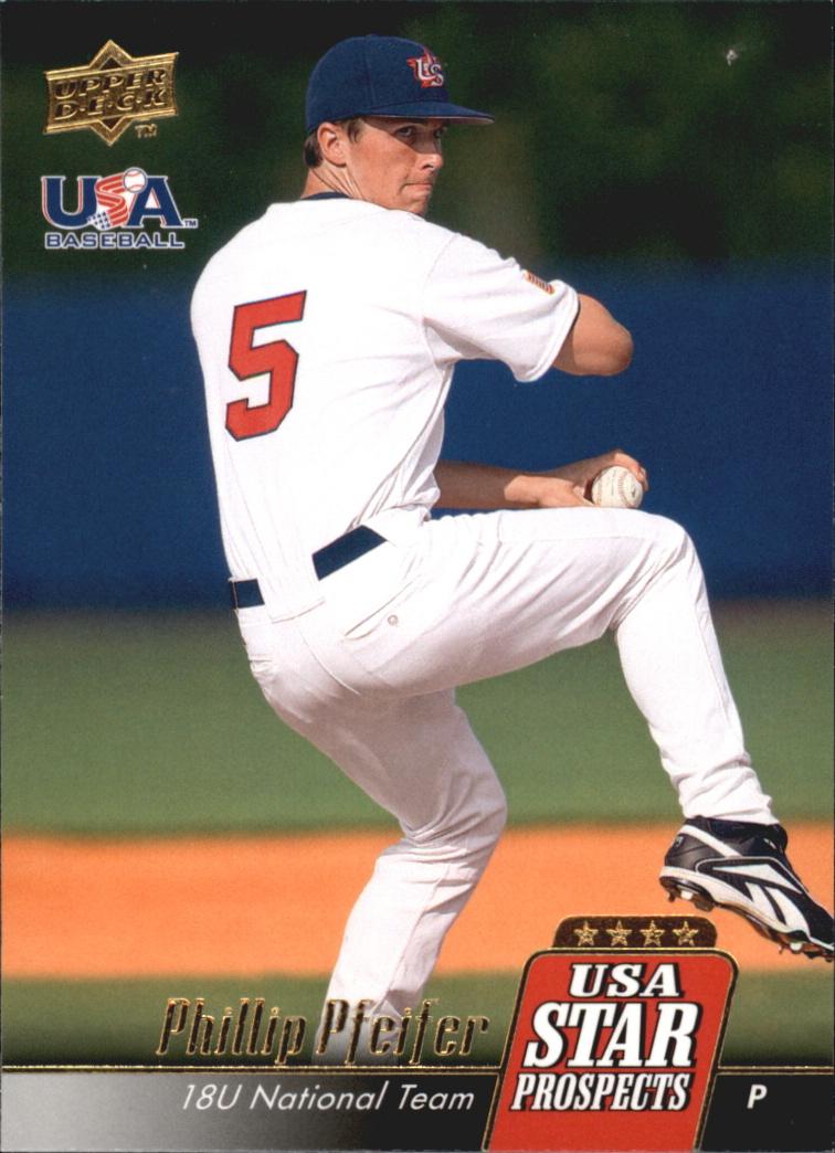 2009 Upper Deck Signature Stars USA Star Prospects #USA13 Phillip Pfeifer