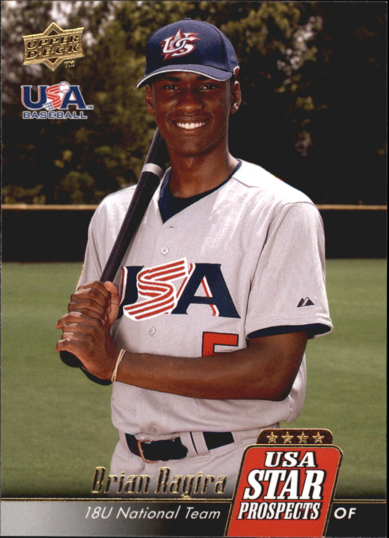 2009 Upper Deck Signature Stars USA Star Prospects #USA14 Brian Ragira