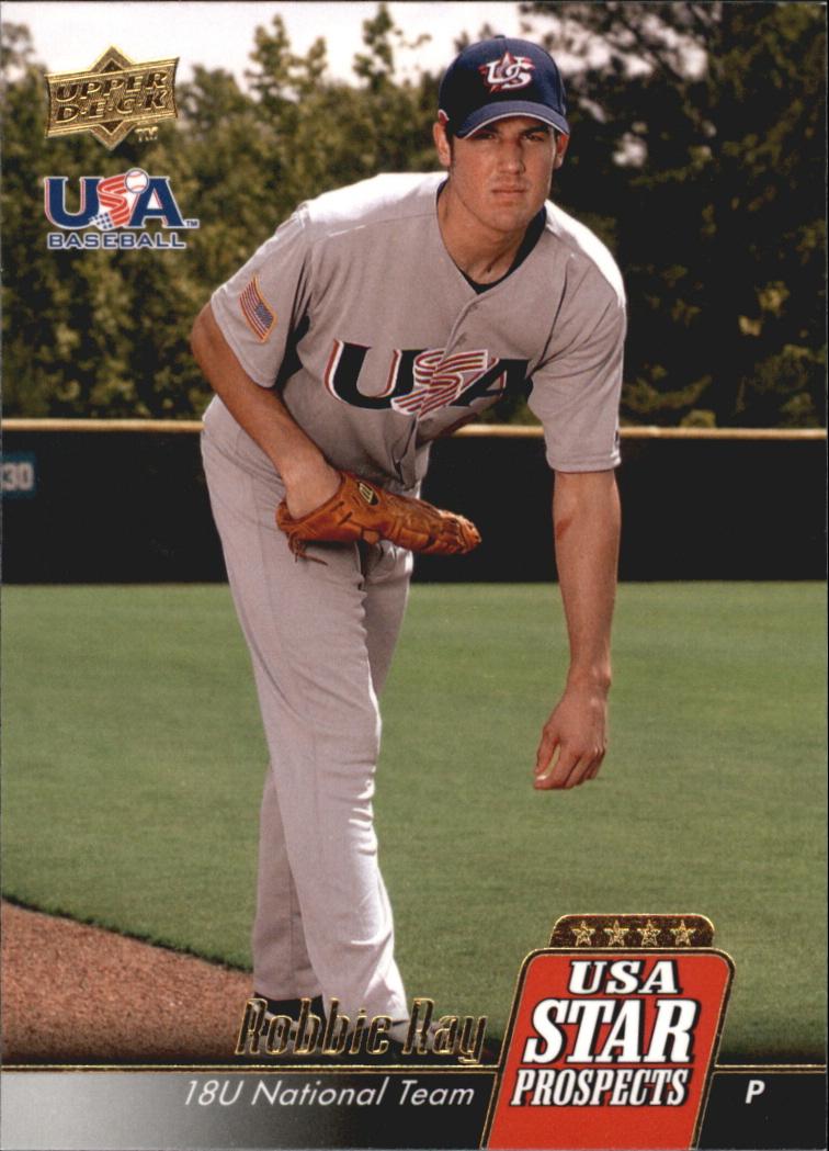 2009 Upper Deck Signature Stars USA Star Prospects #USA15 Robbie Ray