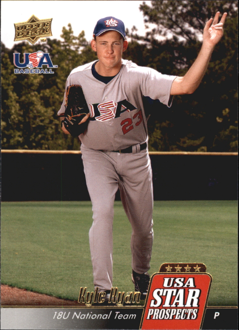 2009 Upper Deck Signature Stars USA Star Prospects #USA16 Kyle Ryan
