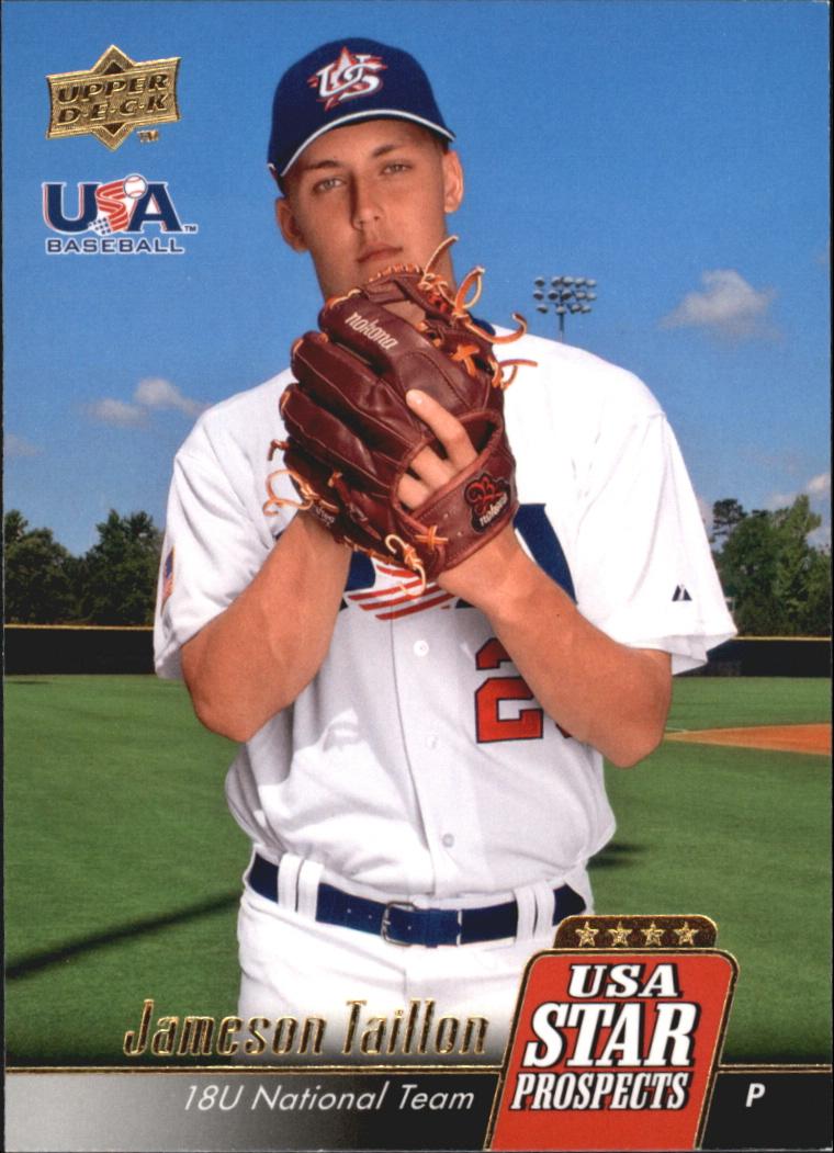 2009 Upper Deck Signature Stars USA Star Prospects #USA17 Jameson Taillon