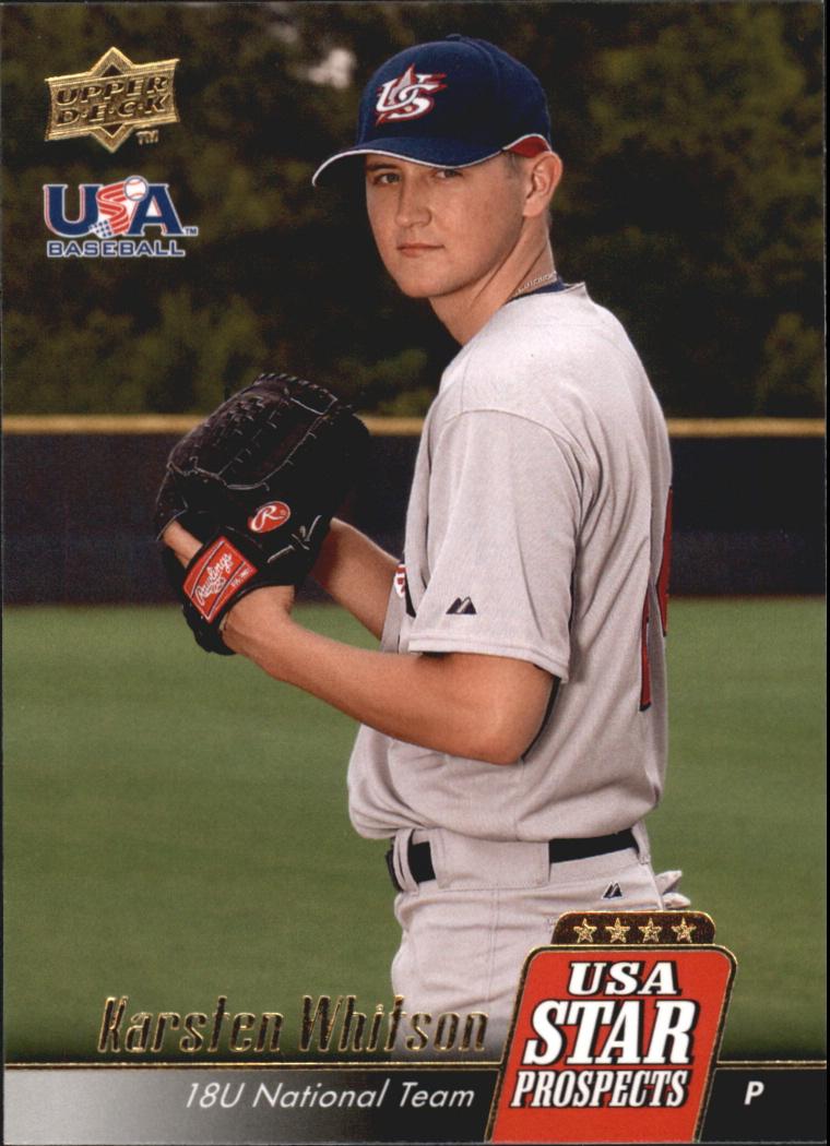 2009 Upper Deck Signature Stars USA Star Prospects #USA19 Karsten Whitson