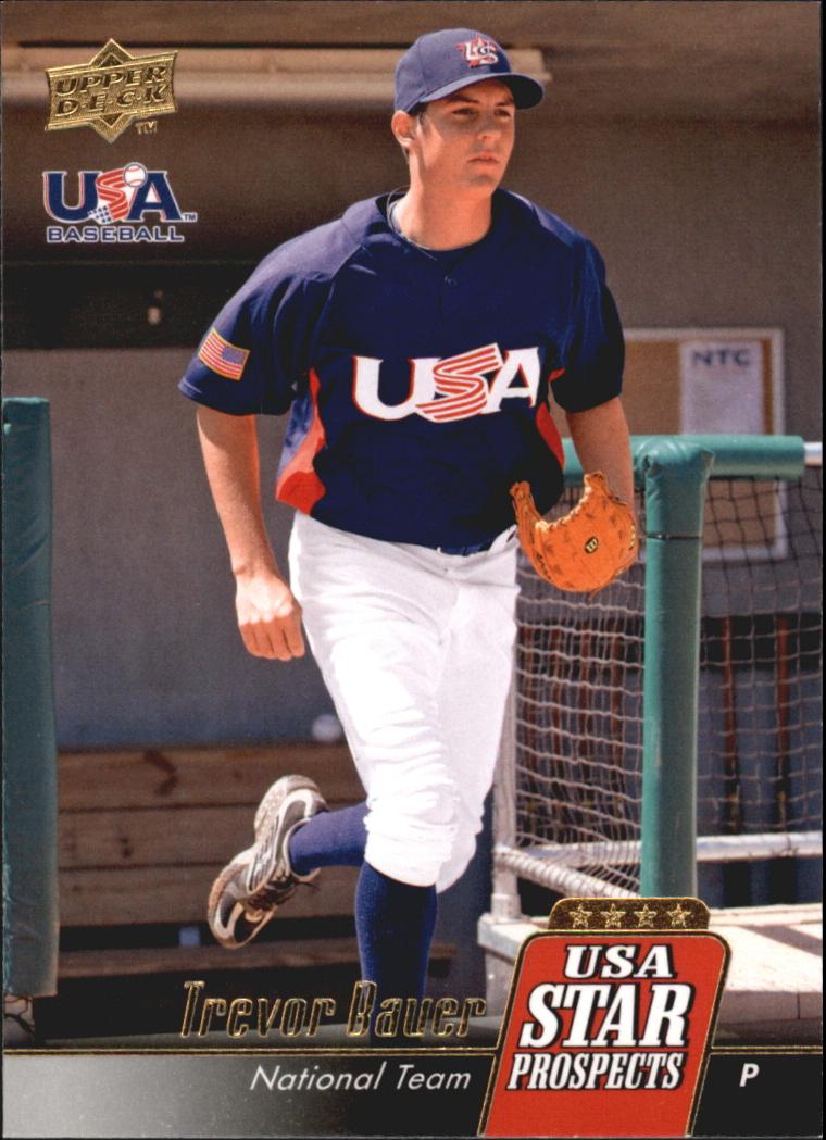 2009 Upper Deck Signature Stars USA Star Prospects #USA21 Trevor Bauer