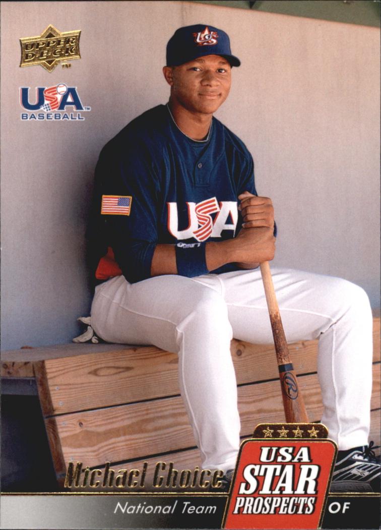2009 Upper Deck Signature Stars USA Star Prospects #USA24 Michael Choice