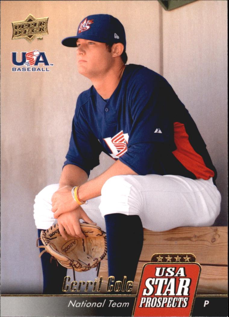 2009 Upper Deck Signature Stars USA Star Prospects #USA25 Gerrit Cole