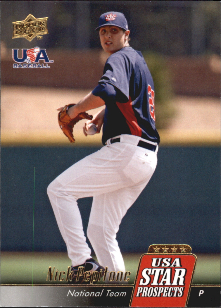 2009 Upper Deck Signature Stars USA Star Prospects #USA35 Nick Pepitone