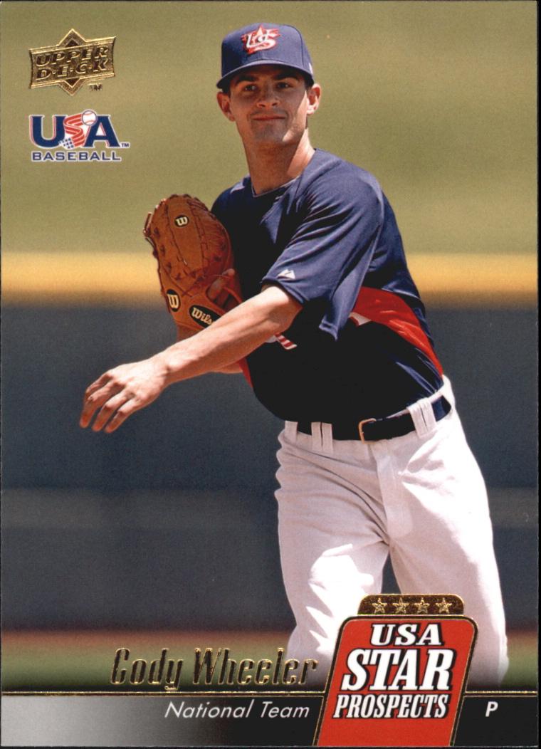2009 Upper Deck Signature Stars USA Star Prospects #USA38 Cody Wheeler