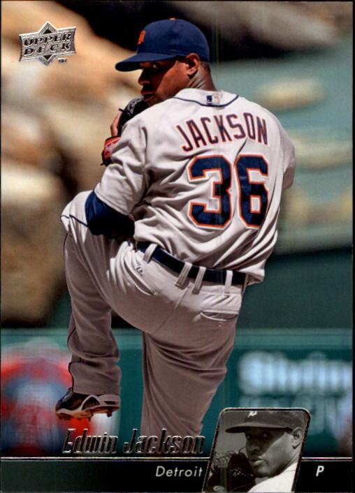 2010 Upper Deck #192 Edwin Jackson
