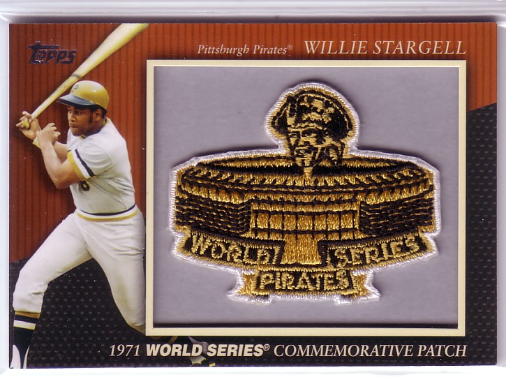 2010 Topps Commemorative Patch #MCP25 Willie Stargell