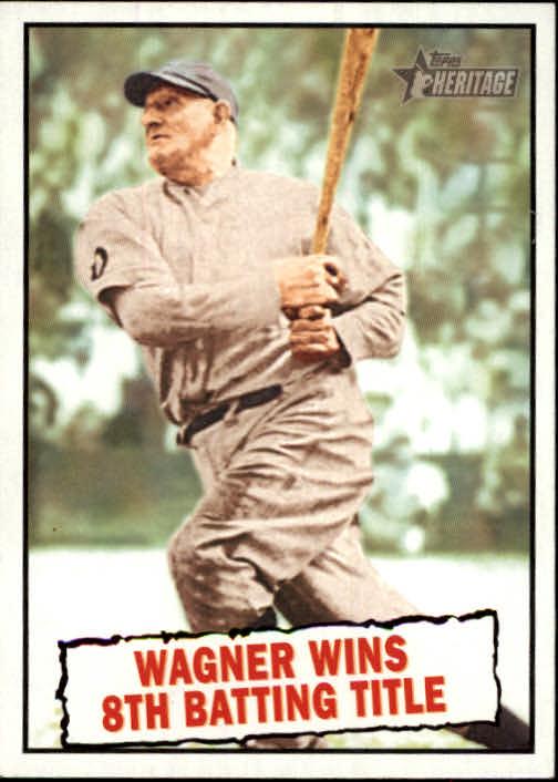 2010 Topps Heritage #410 Honus Wagner BT