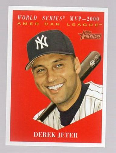2010 Topps Heritage #486 Derek Jeter SP