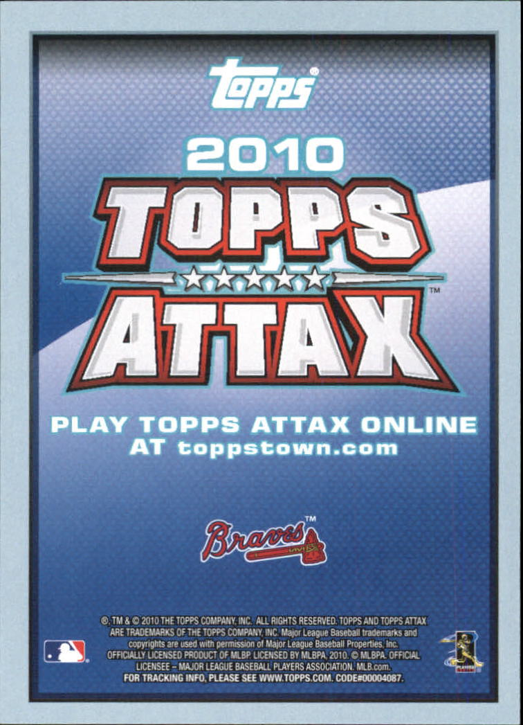 Details about 2010 Topps Attax Baseball Insert Card #1-220 - Choose Your  Card