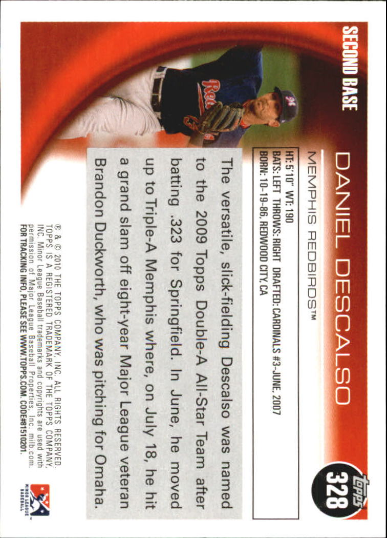 2010-Topps-Pro-Debut-Minor-League-Baseball-Card-Choose-Your-Card thumbnail 130