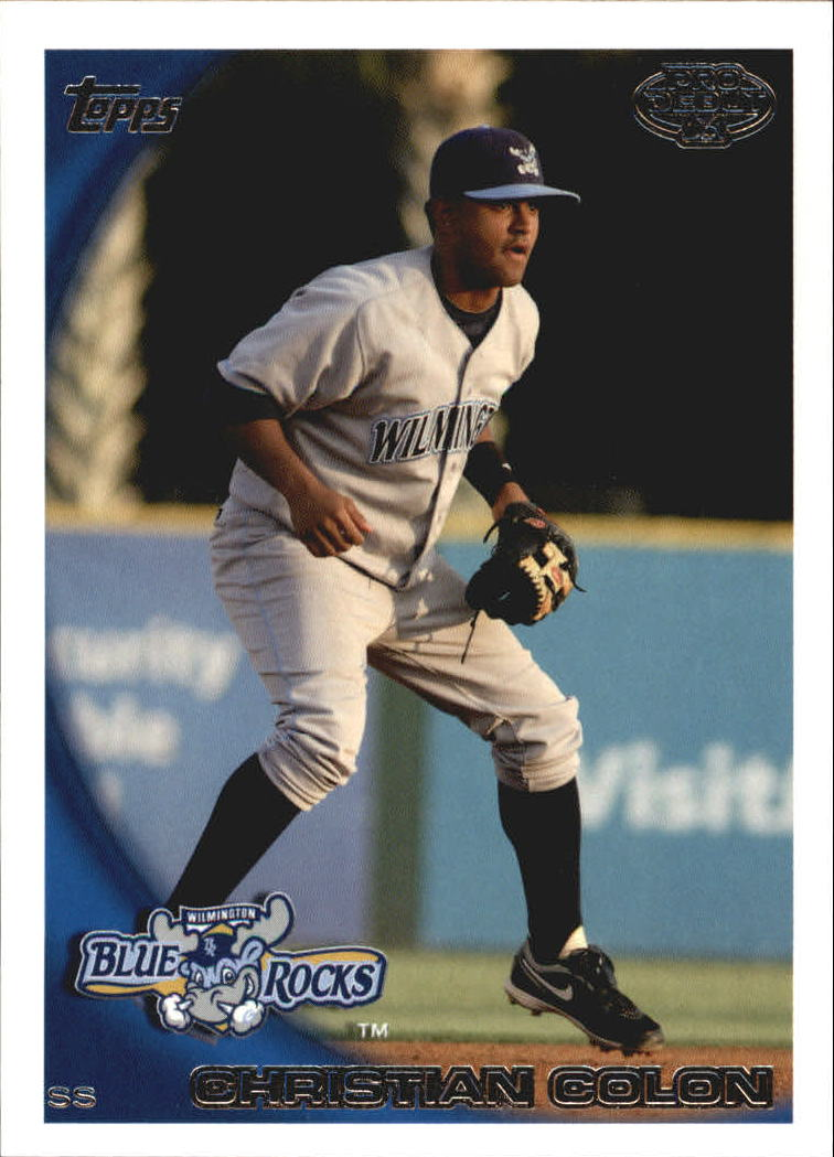 2010 Topps Pro Debut #355 Christian Colon