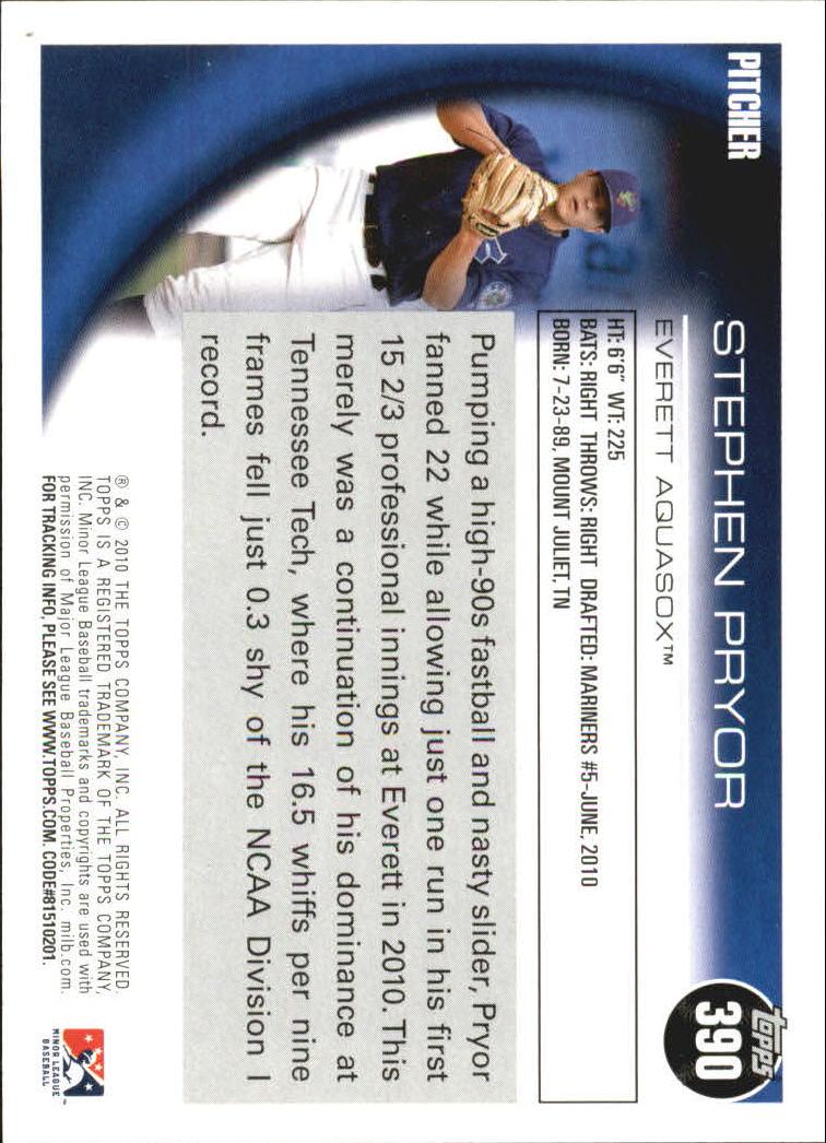2010-Topps-Pro-Debut-251-440-You-Choose-GOTBASEBALLCARDS thumbnail 200