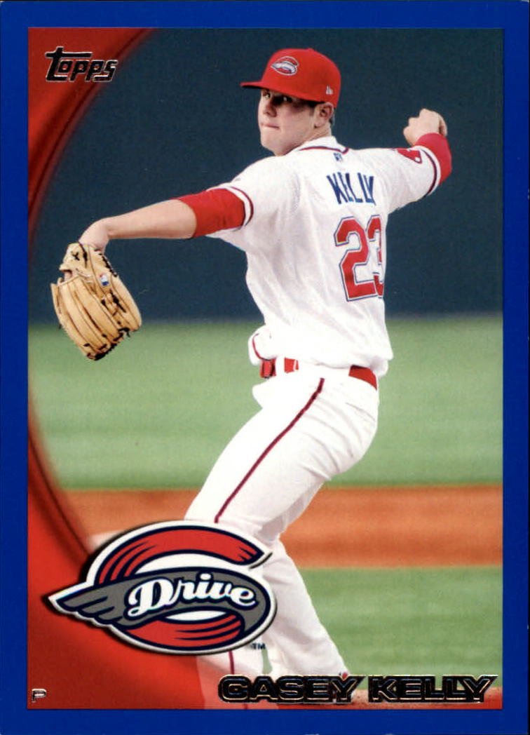 2010 Topps Pro Debut Blue #33 Casey Kelly