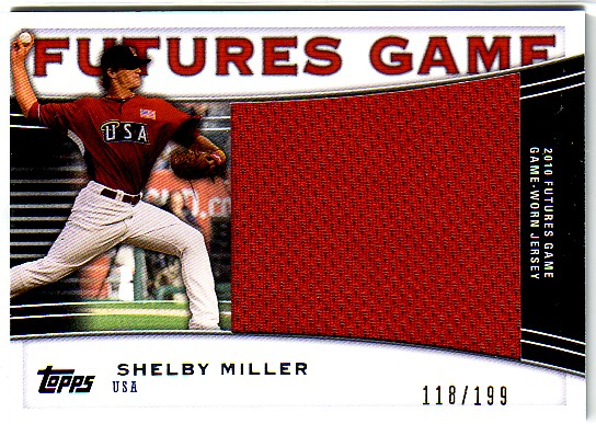2010 Topps Pro Debut Futures Game Jersey #SM Shelby Miller S2