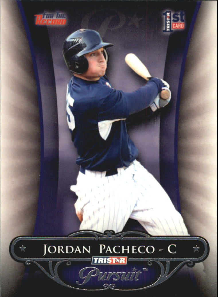 2010 TRISTAR Pursuit #61 Jordan Pacheco