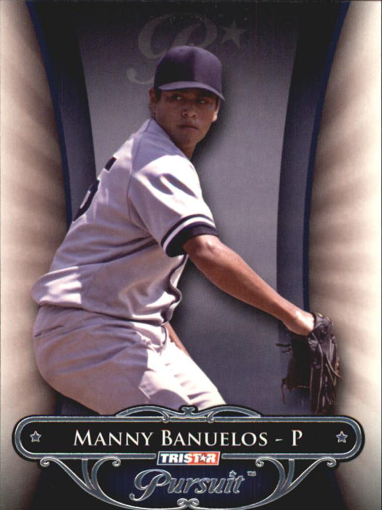 2010 TRISTAR Pursuit #165 Manny Banuelos SP